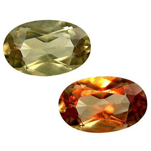 Deluxe Gems 2.42 ct Oval Cut (11 x 7 mm) Unheated/Untreated Turkish Color Change Diaspore Natural Loose Gemstone