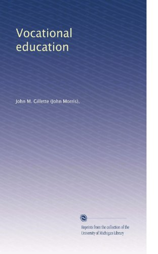 Vocational education (Volume 3)