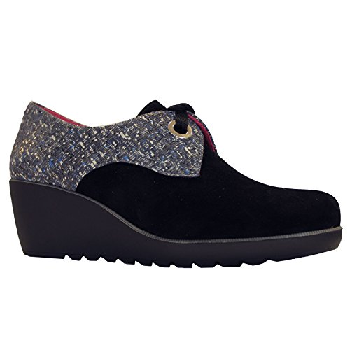 Comfort Womens Shoes Helle Black Gamila Suede adxwq5