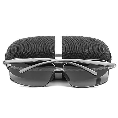 FKSW Gafas Los Hombres De del Polarizadas Oro Aluminio Conducción Sol De black Sol Los Hombres Magnesio De De Gafas De Gafas Gafas De FqgwrF6