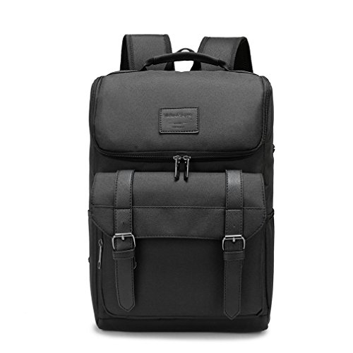 Travel Laptop Backpack,Business Slim Durable Laptops Backpack,College School Stylish Computer Bag for Women & Men Fits 15.6 Inch Laptop and Notebook - Black