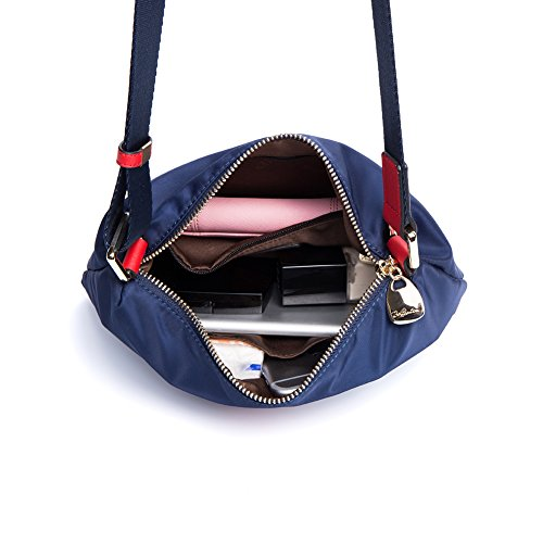 With Waterproof Shoulder BOSTANTEN blue Red Shopper 13 Bags Handbag Tote Oversized Women Rxwqw6H1T