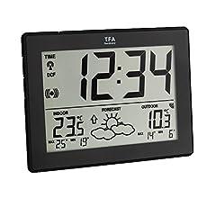 TFA Dostmann 35.1125.02.IT - Estación meteorológica: Amazon.es: Jardín