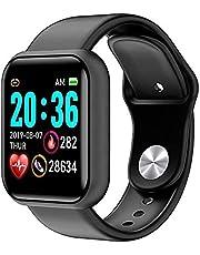 Smartwatch, 1,3 inch touchscreen, fitnesstracker met hartslagmeter, fitnesshorloge, IP67 waterdicht, sporthorloge, smartwatch met stappenteller, fitnessarmband, slaapmonitor, voor dames en heren