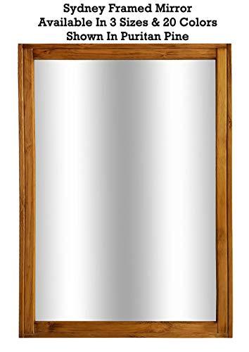 Sydney Rustic Mirror - Vanity Mirror, Bathroom Mirror, Farmhouse Decor, Wood Mirror, - Mirrors Custom Sydney Bathroom