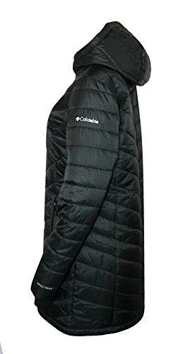 Columbia Women's Morning Light II Omni Heat Long Jacket Coat Puffer, BLACK (M) by Columbia (Image #2)