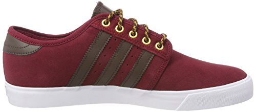 adidas Sneaker Seeley Rosso (Collegiate Burgundy/Brown/Footwear White)