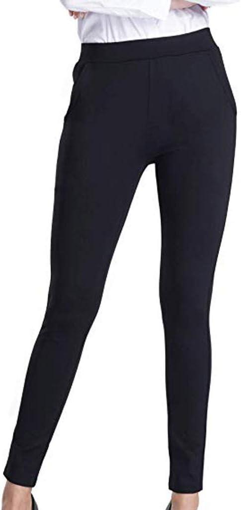Peigen Women Pants,Tight Yoga Pants for Womens Body-Building,Hip-Lifting Nine-Minute Pants