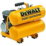 DeWalt D55153 4 Gallons 2 HP Heavy-Duty Electric Hand Carry Compressor
