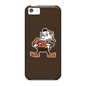 Hot Tpu Covers Cases For Iphone/ 5c Cases Covers Skin - Cleveland Browns 10