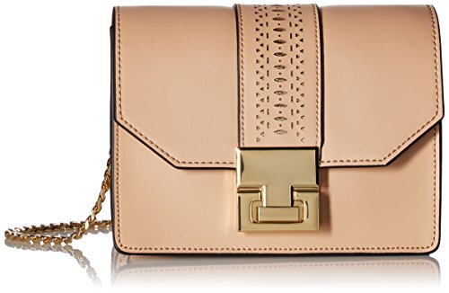 Ivanka Trump Hopewell Chain Crossbody-Nude Lasercut, Nude/Lasercut
