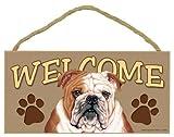 Bulldog Welcome Sign 5