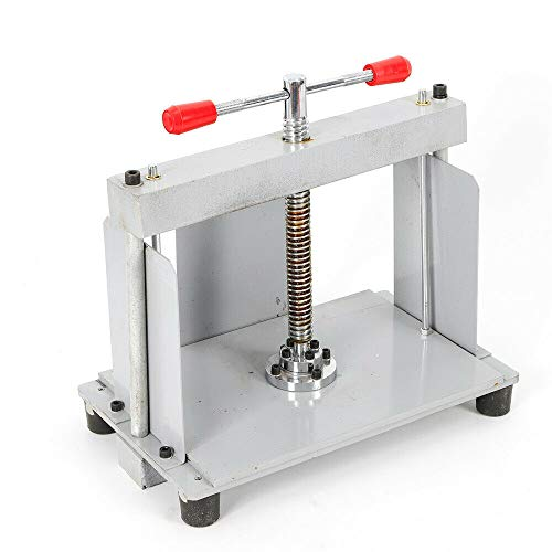 Notes Invoice Flattening Machine A4 Flat Paper Press Machine Durable Steel Bookbinding Bookbinder Press Screw Papermaking Book Press Flat Machine