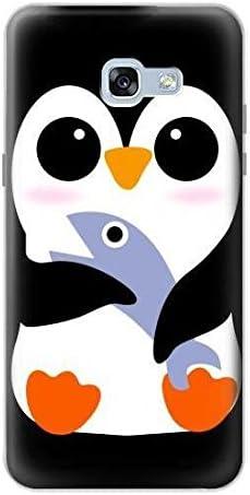 R2631 mignon bébé pingouin Coque pour Samsung Galaxy A5 (2017 ...