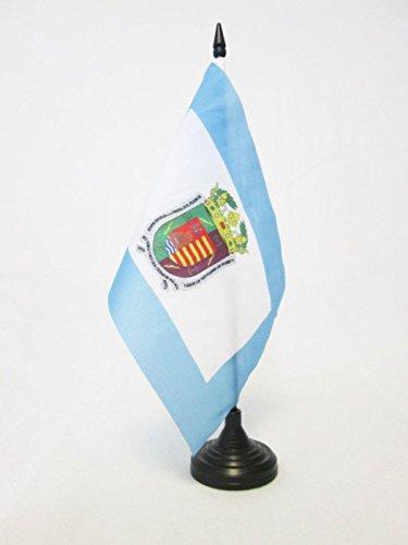 AZ FLAG Bandera de Mesa de la Provincia DE MÁLAGA 21x14cm ...