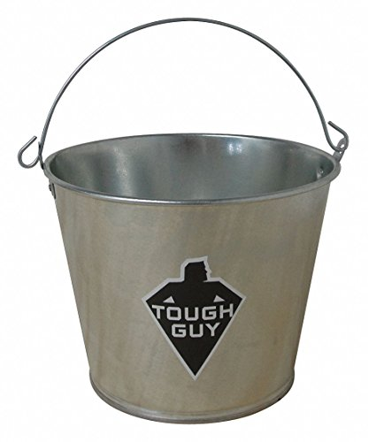 1-1/4 gal. Silver Galvanized Steel Mop Bucket, 1 EA ()