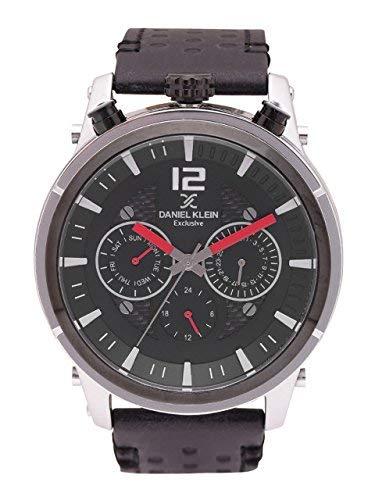 Amazon price history for (Renewed) Daniel Klein Analog Gunmetal Dial Men's Watch-DK11378-1