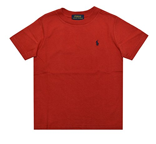 (Polo Ralph Lauren Boys Solid Cotton Tee (2T Toddler, RL 2000 Red))