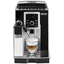 DeLonghi ECAM23260SB Magnifica S Smart Fully Automatic Espresso, Cappuccino and Coffee Machine with One Touch LatteCrema System