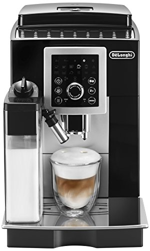Delonghi ECAM23260SB Magnifica Smart Espresso & Cappuccino Maker, Black (Best Super Automatic Espresso Machine Reviews)