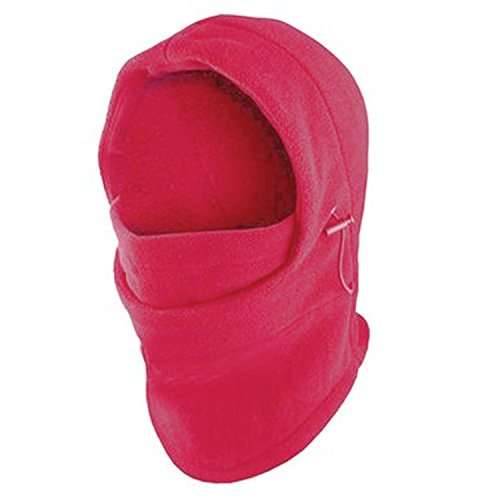 - Fleece Windproof Ski Face Mask Balaclavas Hood by Super Z Outlet (Pink),One Size