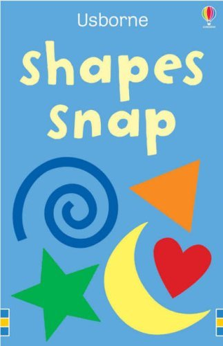 Shapes Snap (Usborne Snap Cards) by n/a (25-Apr-2008) Cards PDF