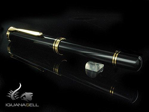 PELIKAN 800 Series Rollerball Pen, Black (997643)