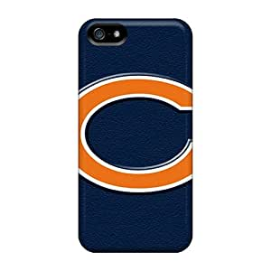 Best Hard Phone Covers For Iphone 5/5s With Customized High-definition Chicago Bears Image SherriFakhry
