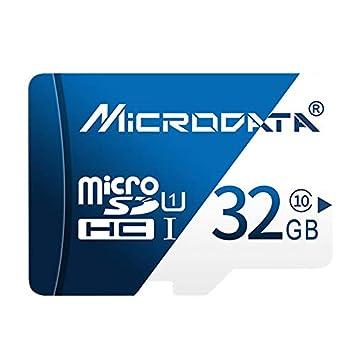 KANEED Tarjeta de Memoria 32GB U1 Azul y Blanca TF (Micro SD ...
