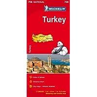 Turkey - Michelin National Map 758: Map (Michelin National Maps)