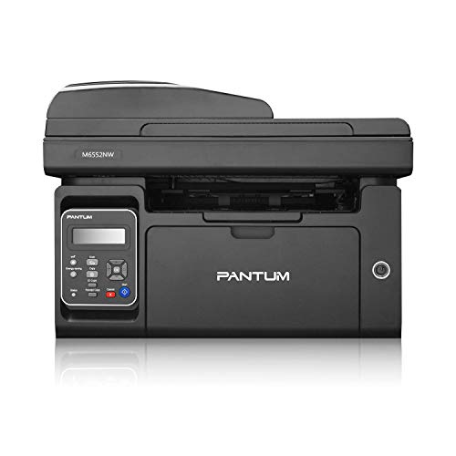 Pantum M6552NW Monochrome Laser Multifunction Printer with Wireless Networking Mobile Printing Large Paper Capacity (Renewed)