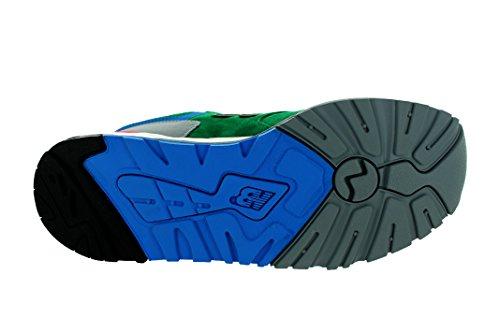 Nuovo Equilibrio Uomo 999 Felpa Elite Edition (verde / Grigio) Verde