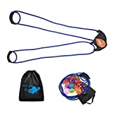Tree Water Balloon Launcher 500 Yard Toys 3 Person Slingshot 100 Water Balloons, Heavy Duty Water Balloon Cannon Slingshot Fight Pool Party Toys for Kids and Adults