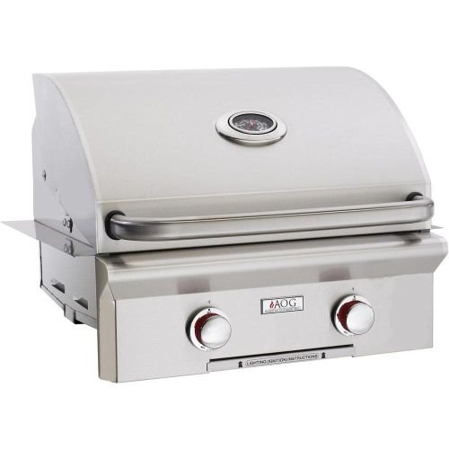"30"" AOG Built-In ""T"" Series Grill w/Rotisserie and Rapid Light - NG American Outdoor Grills"