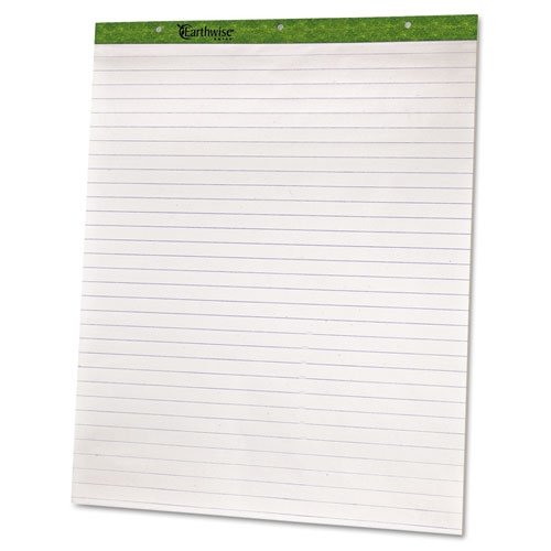 Ampad 24034 Flip Charts, 1 Ruled, 27 x 34, White, 50 Sheets (Pack of 2) by Esselte