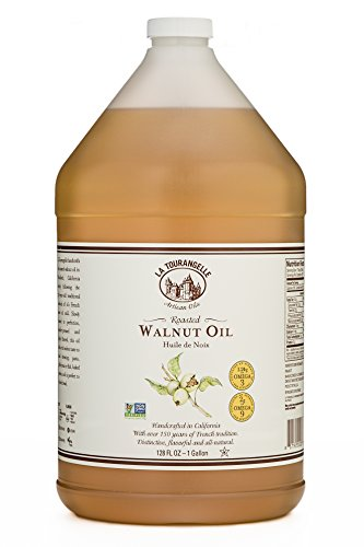 - La Tourangelle Roasted Walnut Oil 128 Fl. Oz, All-Natural, Artisanal, Great for Salads, Marinades, Grilled Fish and Meat, or Pasta