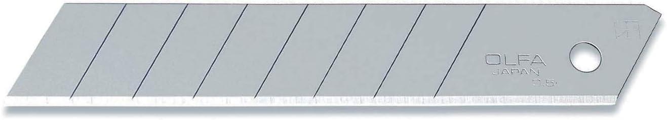Acier Inoxydable 8 x 0,9 x 0,1 cm acier Olfa 10 lames OLFA AB-10B