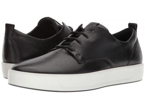 ECCO(エコー) メンズ 男性用 シューズ 靴 スニーカー 運動靴 Soft 8 Street Tie - Black [並行輸入品] B07BLXGZFX