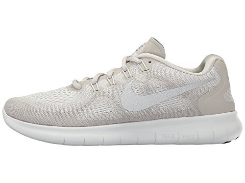 eebe81872dbc8 Galleon - Nike Free RN 2017 Sail Metallic Silver Pale Grey Summit White  Womens Running Shoes