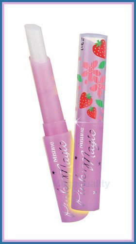 Mistine Pink Magic Strawberry Scent Plus Vitamin E Lip Balm Nourishing Care Amazing of Thailand