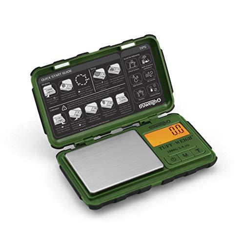TUFF-WEIGH Digital Mini Scale 1000g x 0.1g Green / Black ()