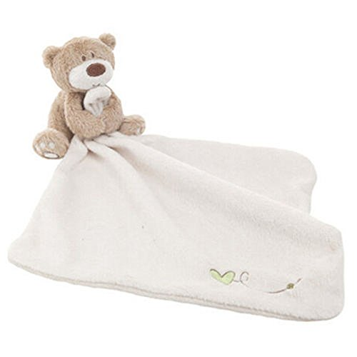 Cute Baby Toddler Infant Blanket Soft Coral Fleece Toys Sleep Appease Bear - Shopping Manhattan Center