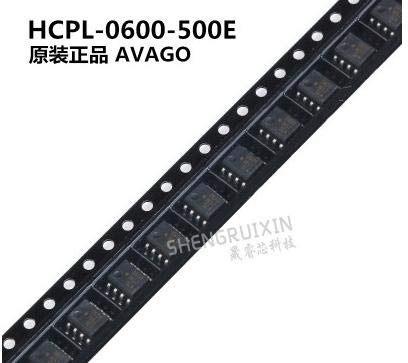 Calvas 100% new imported original HCPL-0600 HCPL-0600-500E small volume SOP8 SMD package high speed TTL compatible Optocoupler by GIMAX