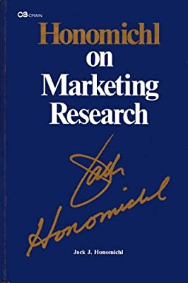 Honomichl on Marketing Research
