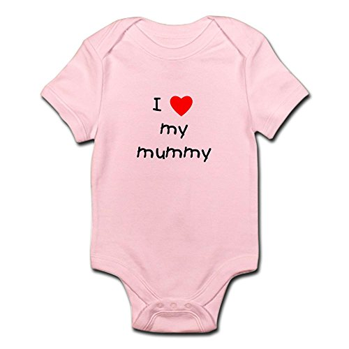 CafePress - I love my mummy Infant Bodysuit - Cute Infant Bodysuit Baby Romper