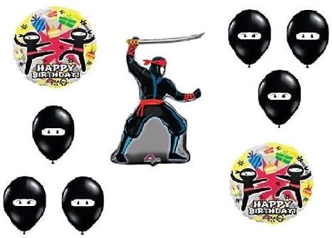 Amazon.com: LoonBalloon NINJA Karate Martial Arts Kicking ...