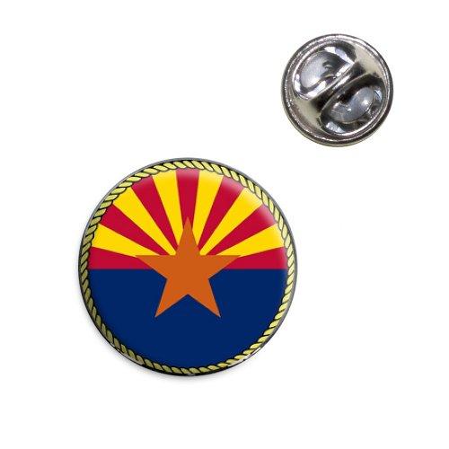 Arizona Epoxy - Arizona State Flag Lapel Hat Tie Pin Tack