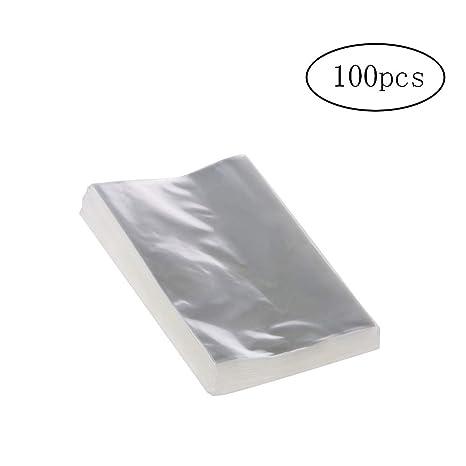 ISuper 100 Bolsas de OPP Transparente cellofan Bolsas ...