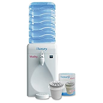 Little Luxury SPI1105 Portable Mini Water Cooler Dispenser and Filter