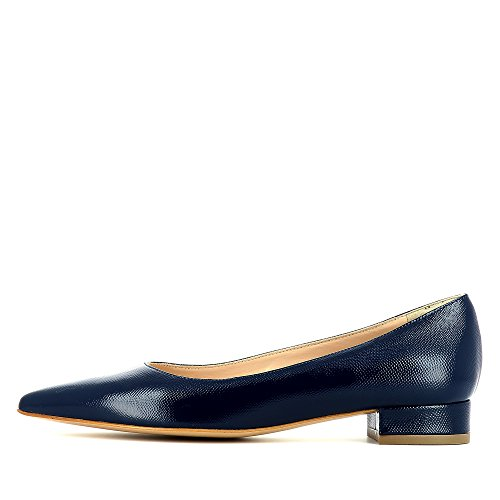 Evita Shoes Franca - Zapatos de vestir de Piel para mujer Azul